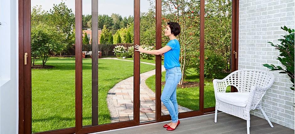 развижные окна рехау для балконов и лоджий - Профили REHAU