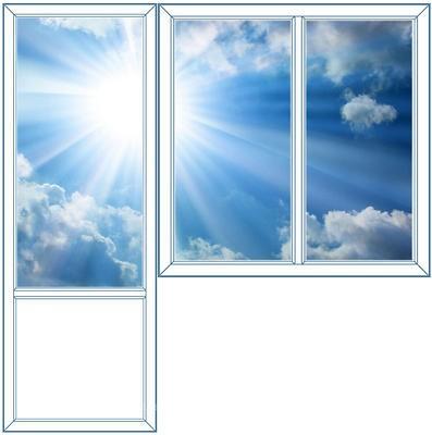 6c2c7fa4a43c688c - Пластиковые окна - Остекление балконов