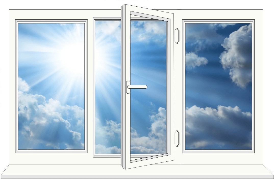 okno 2 - Пластиковые окна - Остекление балконов