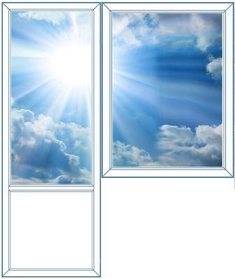 b1 - Окна, балконы