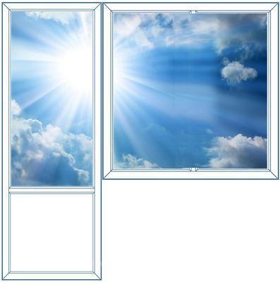 b2 - Окна, балконы