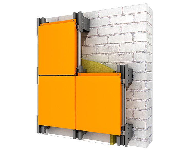 aljuminievaja ognestojkij fasadnaja sistema aljukobond - Фасадные кассеты
