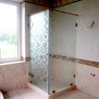steklo s uzorom 200x200 - Стеклянные душевые кабины