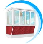 usl01 - Лоджии, остекление балконов
