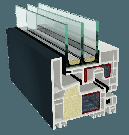 IKD - ОКНА GEALAN S 9000