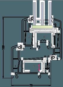 rehau delight1 min 215x300 - Правила выбора пластиковых окон от REHAU