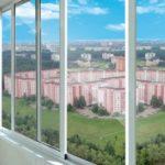 Лоджии, балконы из алюминия