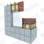 Монтаж керамогранитных панелей