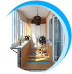 Лоджии, остекление балконов