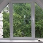 Многоугольные и трапециевидные окна
